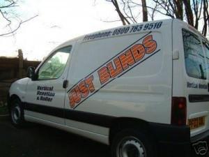 Just Blinds Van