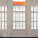 Internal window shutters fitted