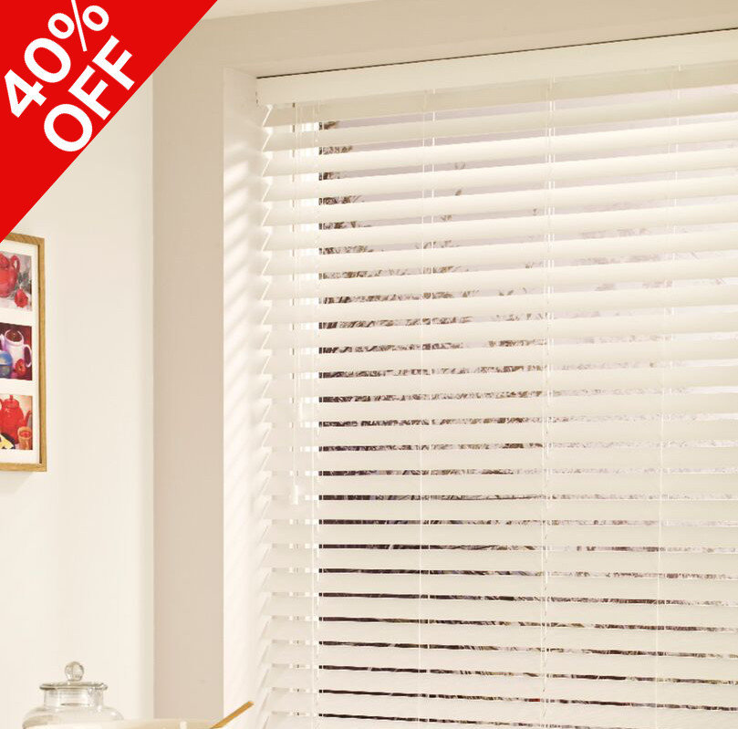 faux wood blind offers