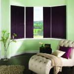 vertical blinds for bay windows