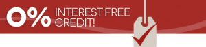 Interest free credit on Plantation shutters
