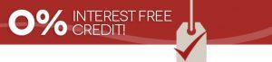Interest free credit on Plantation shutters