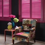 coloured plantation shutters