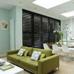 Internal shutters for patio doors