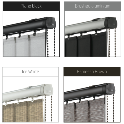 best vertical blind headrails