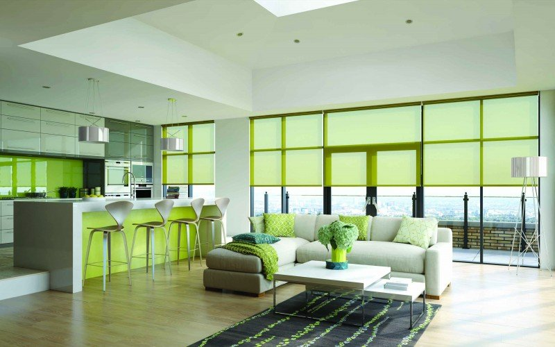 Roller blinds Wigan, St Helens, Manchester, Bolton, Preston, Warrington