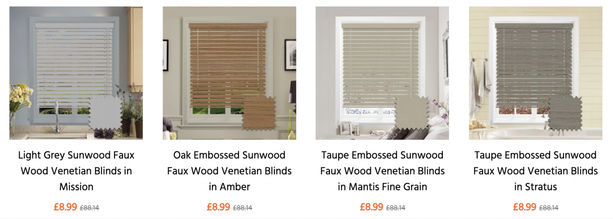 Buy wood blinds online