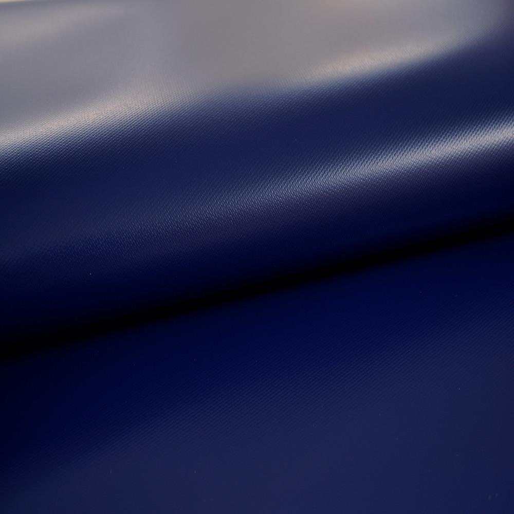 Navy blue water resistant bathroom blind