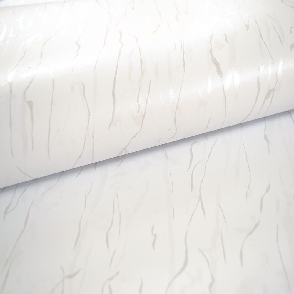 white pvc roller blind ideal for bathrooms