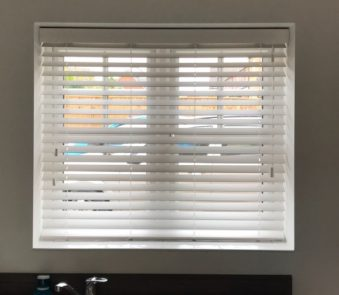 Faux wood blinds Bolton