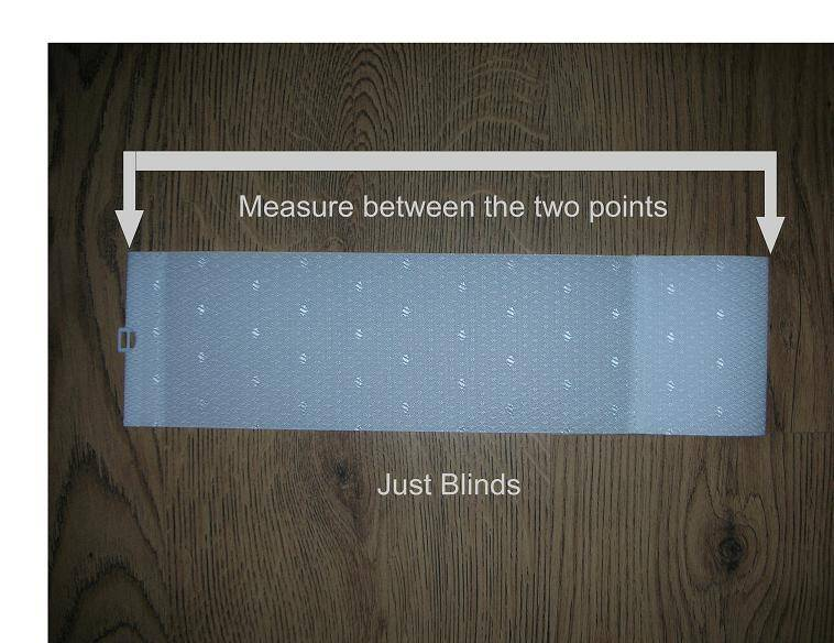 How to measure for replacement blind slats